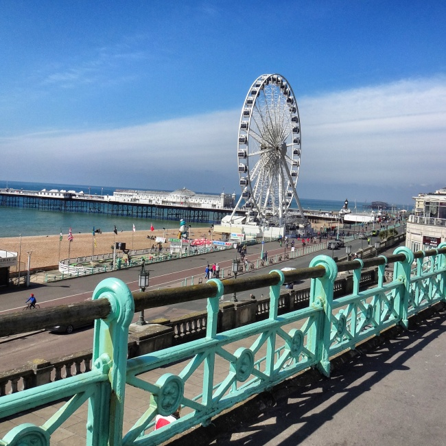 Brighton sea view