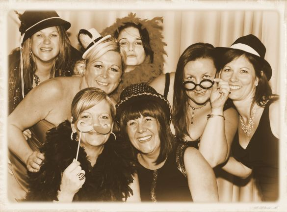 Ladies at Clic Sargent charity fundraiser