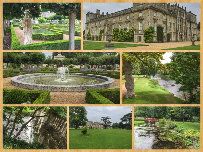 Scenes from Wilton House Gardens
