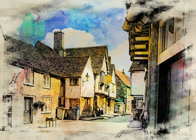 The enchanting Village of Lacock